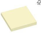 Notatblokk selvklebende  STAPLES 51x76mm gul