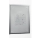 Magnetramme DURAFRAME Wallpaper A3 Sølv