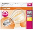 Lyspære OSRAM LED Classic A40 Klar E27 Dimmbar