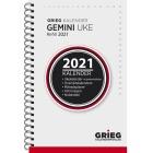 Lommekalender GRIEG Gemini spiral refill 2021