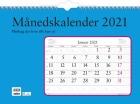 Månedskalender GRIEG f/vegg spiral 2021