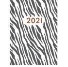 Lommekalender GRIEG Gemini Colore 2021 Zebra