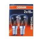 Lyspære OSRAM 15W E14 mini (2)