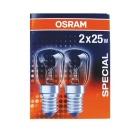 Lyspære OSRAM 25W E14 mini (2)