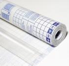 Folie selvklebende 45cmx20m 50my transparent