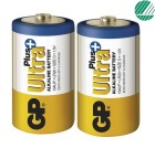 Batteri GP Ultra Plus Alkalisk LR20 D (2)