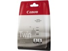 Blekk CANON BCI-6BK Twin pack sort (2)