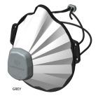Støvmaske Comfort FFP3 grå, Patent (vaskbar 40gr)
