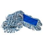 Mopp 40cm m/lomme Mikrofiber Lux garn ØRN® Grå/blå