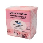 Klut Activa Just Once non woven 33x30cm Rød (100/pk)