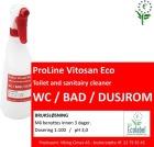 Etikett Vitosan Eco Sanitær - bruksløsning
