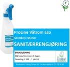 Etikett Våtrom Eco - bruksløsning