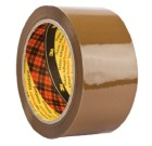 Emballasjetape 50mm x 66m SCOTCH® 309 Brun
