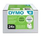 Etikett DYMO Adresse 36x89mm 260 stk (24 ruller)