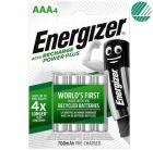 Oppladbare Batteri ENERGIZER PowerPlus AAA / NH12 (4)