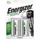 Oppladbare Batteri ENERGIZER C 1,2V 2500mAh (2)