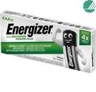 Oppladbare Batteri ENERGIZER PowerPlus AAA / NH12 (10)