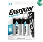 Batteri ENERGIZER Max Plus C / LR14 (2)