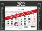 Kalender GRIEG magnet Primstav 2022 Sort