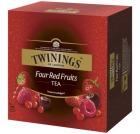 Te TWININGS Fire røde frukter (100)