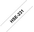 Krympestrømpe BROTHER 11,7mm HSE231 sort/hvit