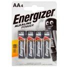 Batteri ENERGIZER Alkaline Power AA / LR6 (4)