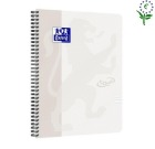 Notatbok OXFORD Touch A4+ 90g linjert Stone
