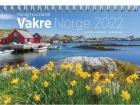 Kalender GRIEG magnet Vakre Norge 2022