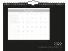 Månedskalender GRIEG 2022 Elegant spiral 35x27cm