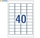 Etikett A4 45,7x25,4mm Ekstra sterk AVERY (800)