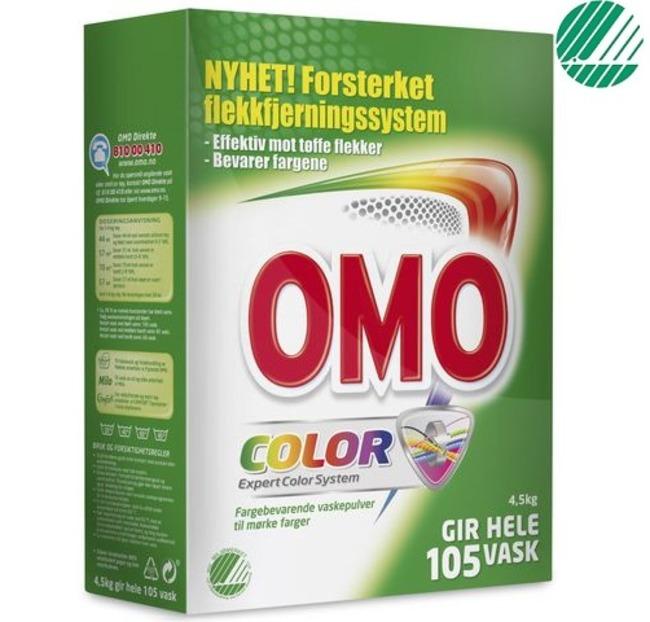 0c754824 Tøyvask OMO Color 4,5kg varekjop.no