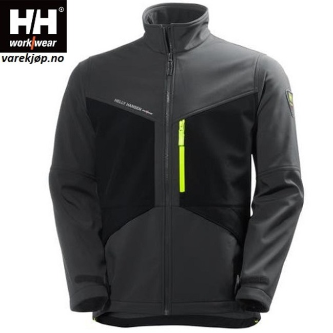 AKER Softshell jakke HH® varekjop.no