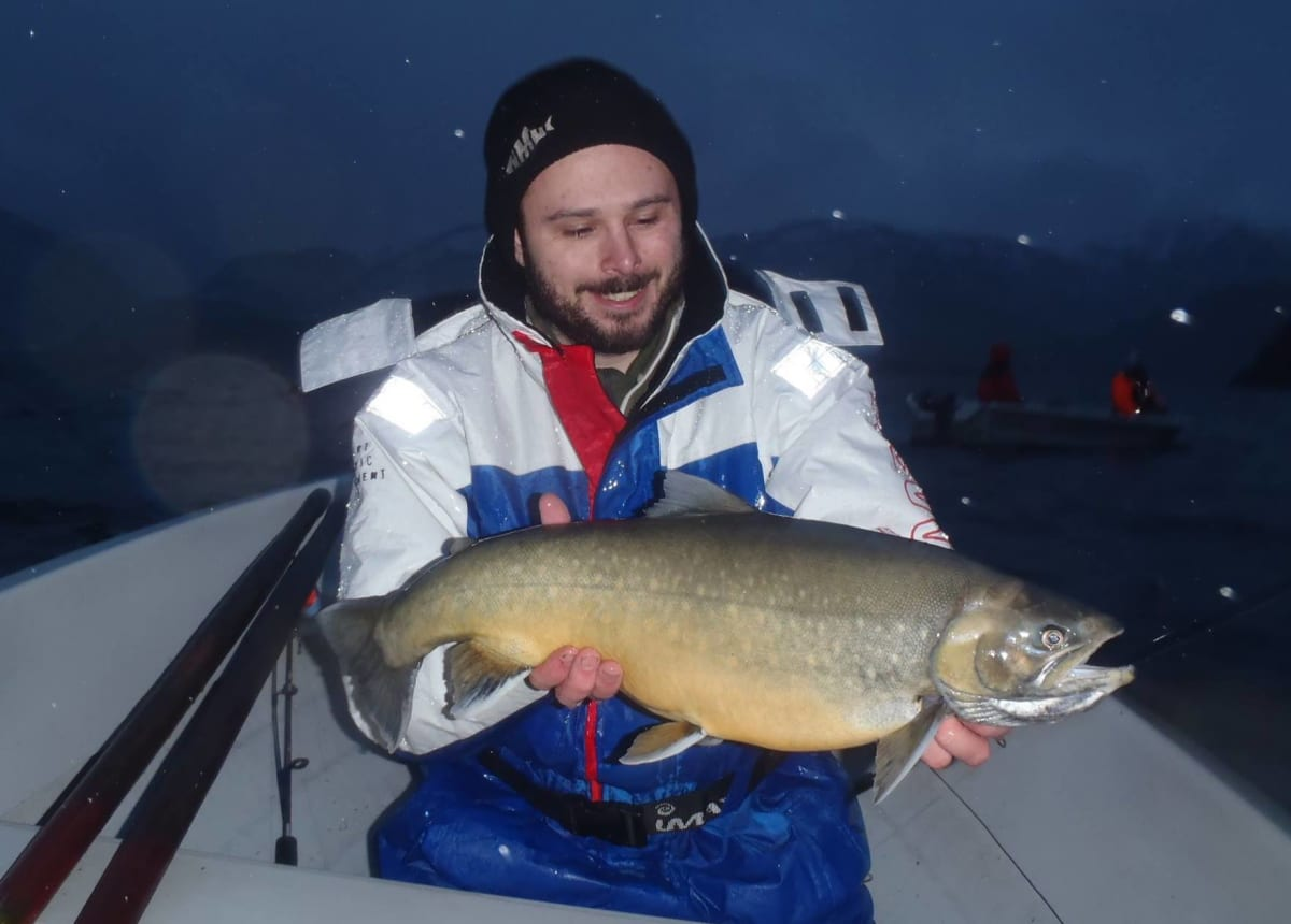 Tips til isfiske etter røye