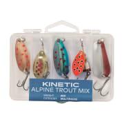 Kinetic Alpine Trout Mix 5pcs