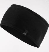 Haglöfs Fanatic Headband True Black Solid