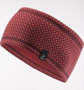 Haglöfs Fanatic Headband Brick Red/Maroon Red