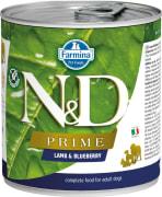 Farmina N&D Dog Prime Lamb&Blueberry 285 G Can