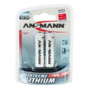 Ansmann Lithium Batteri AA 2 Pk