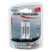Ansmann Lithium Batteri AAA 2 Pk