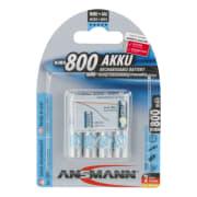 Ansmann Oppladbare AAA 800 Mah