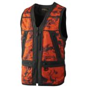 Härkila Lynx Safety Vest Axis MSP Orange Blaze/Shadow Brown