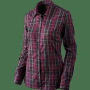 Seeland Pilton Lady Skjorte Raisin Checkered