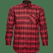 Seeland Helt Skjorte  Biking Red Checkered