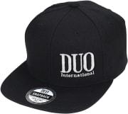 DUO Snapback Cap Black
