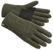 Pinewood Wool Glove Mossgreen M-L