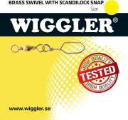 Wiggler Messingsvivel Scandilock 10-pk