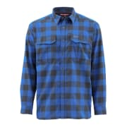 Simms ColdWeather Shirt Rich Blue Buffalo Plaid