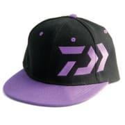 Daiwa Snapback Cap - Black/Purple