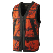 Härkila Lynx Safety Vest Axis MSP Orange Blaze/Shadow Brown