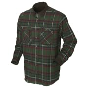 Härkila Pajala Skjorte Green Checkered